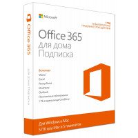 MS Office 365 для дома 6 ПК