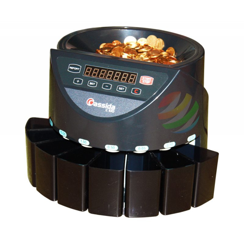 Cassida C 100 счетчик-сортировщик монет