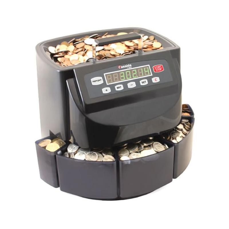Cassida C 200 счетчик-сортировщик монет