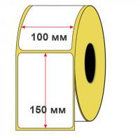 Термотрансферная этикетка 100х150х500 полуглянец