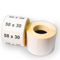 Термоэтикетки 58x30x500 ЭКО