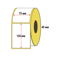 Термоэтикетка 75x120x300 ЭКО - для Озон