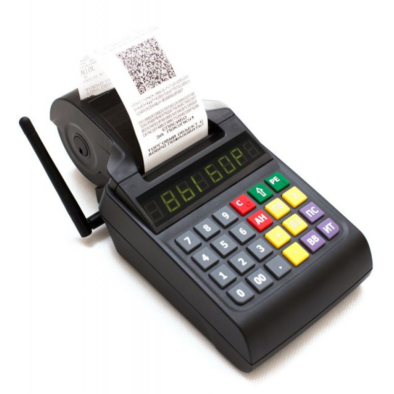 АТОЛ 90Ф Кассовый аппарат (Wifi, 2G, с ФН, с АКБ, без кабеля USB)