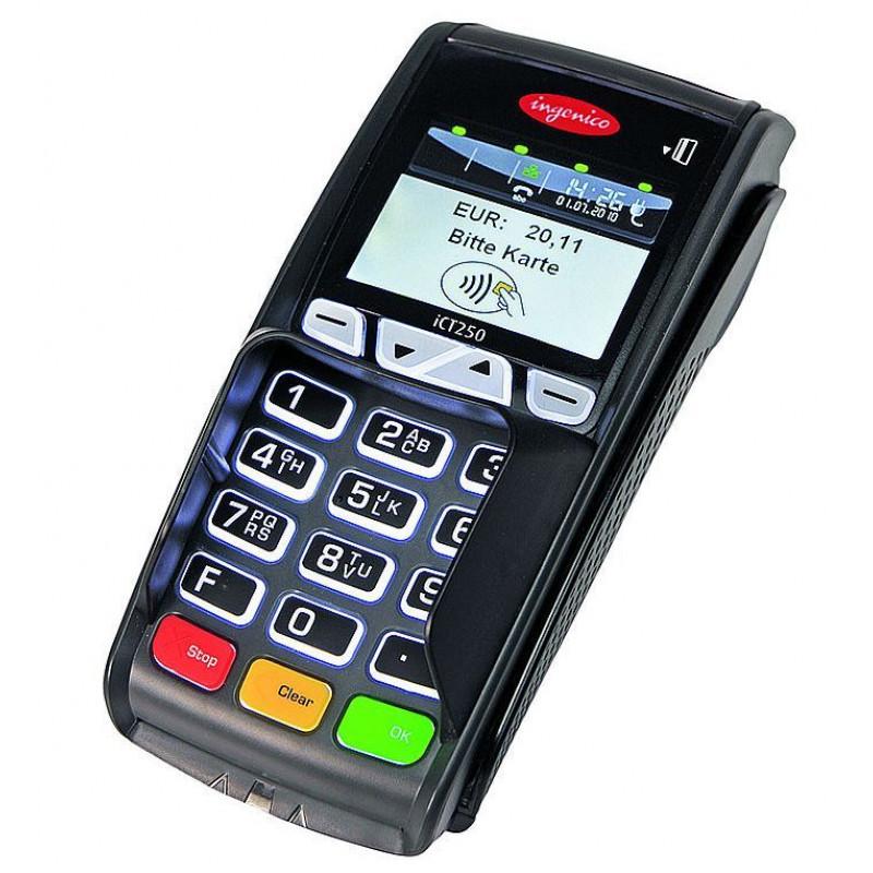 Терминал Ingenico iCT250 GPRS Contactless,  комплект «Отличный безналичный»
