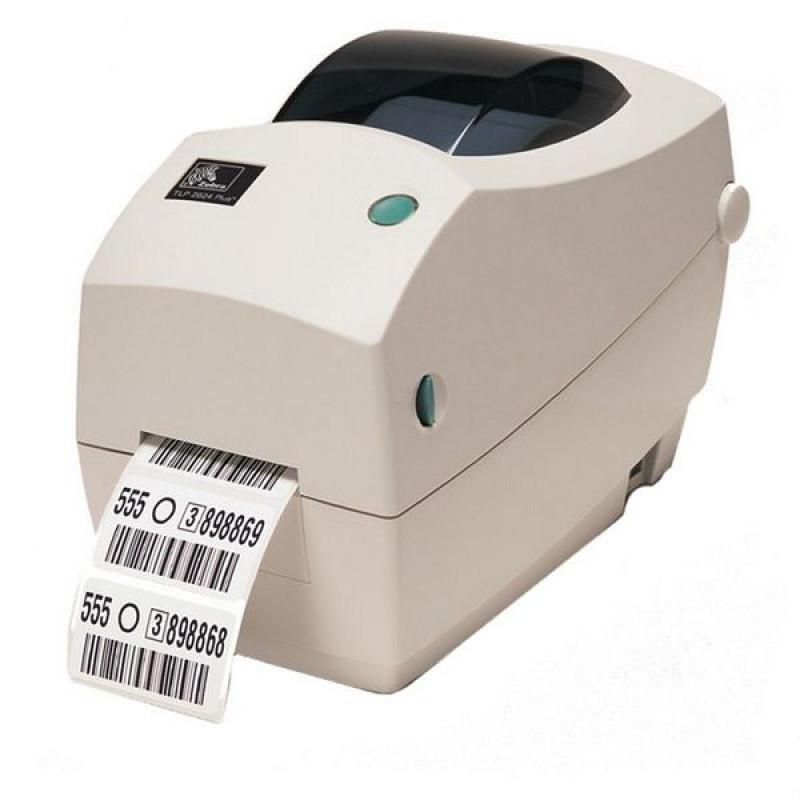 Zebra TLP 2824 Plus термотрансферный принтер этикеток