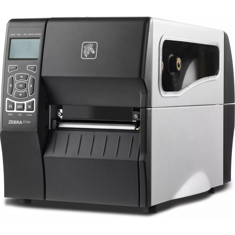Zebra ZT230 промышленный термотрансферный принтер этикеток