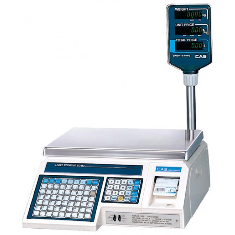 CAS LP весы торговые с печатью этикеток