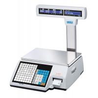 CAS CL5000J-IP весы торговые с печатью этикеток