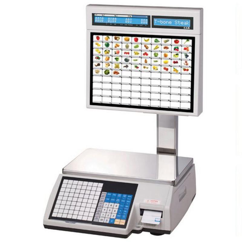 CAS CL5000J-IS весы для самообслуживания с печатью этикеток