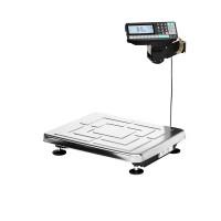 Масса-К ТВ-S-RP1 - весы напольные с печатью этикеток