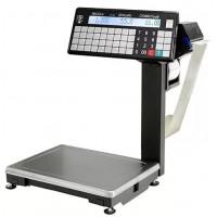 Масса-К ВПМ-Т1 весы торговые с печатью этикеток, с подмотчиком