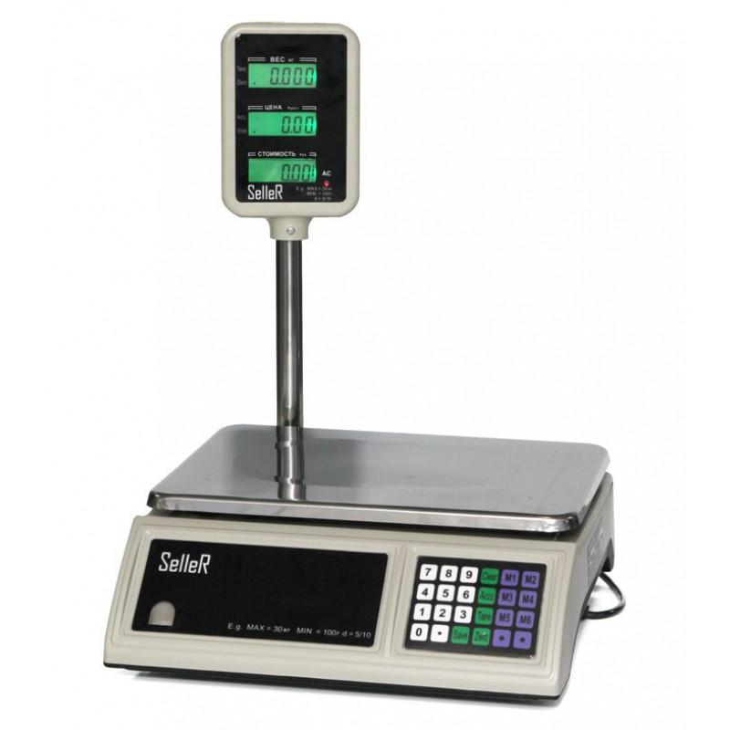 Seller SL-201P LCD весы торговые