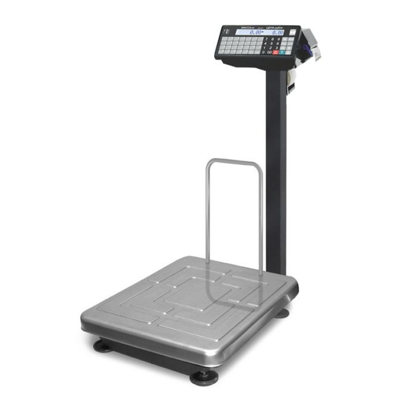 Масса-К ТВ-S-Р3 весы напольные с печатью этикеток